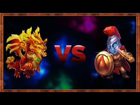 Lavanica VS Accuracy Skull Knight | CASTLE CLASH