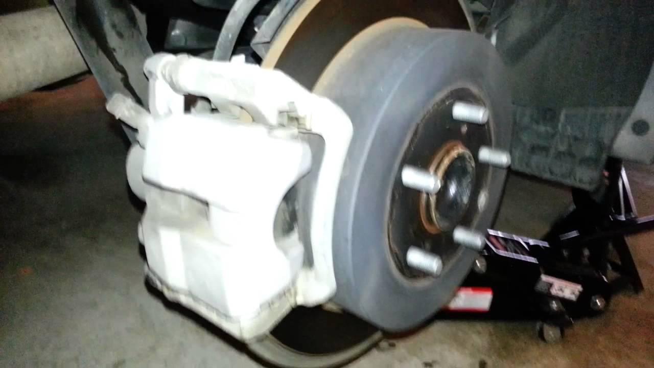 2012 Toyota Sienna Rear Brake Caliper Rotor Amp Bracket