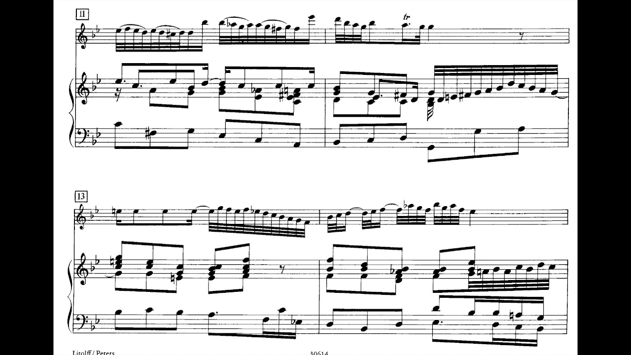 Bach Oboe Sonata In G Minor Bwv 1030b Youtube