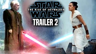 Star Wars The Rise Of Skywalker Trailer 2 Exciting News Revealed (Star Wars Episode 9 Trailer)