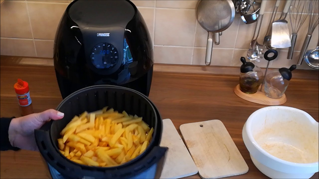 pommes selber machen heißluftfritteuse