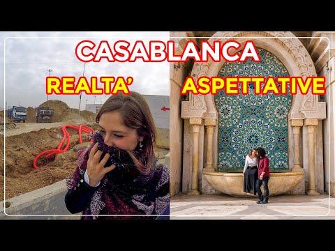 Vale La Pena Visitare CASABLANCA?? (La PIU' GRANDE Città Del MAROCCO)