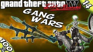 GTA IV TLAD - ALL 50 GANG WARS [100% Walkthrough]