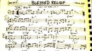 Blessed Relief - Frank Zappa (Backing Track)