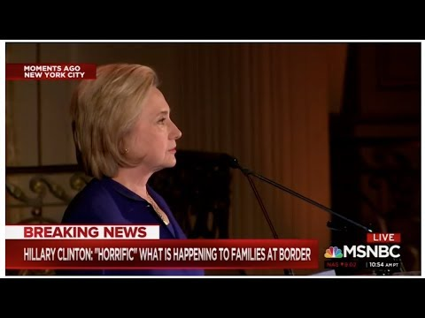 Hillary Clinton calls out Trump's immigration lies