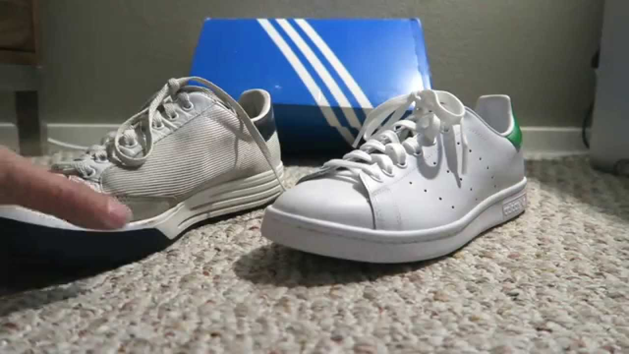 stan smith adidas fake vs original