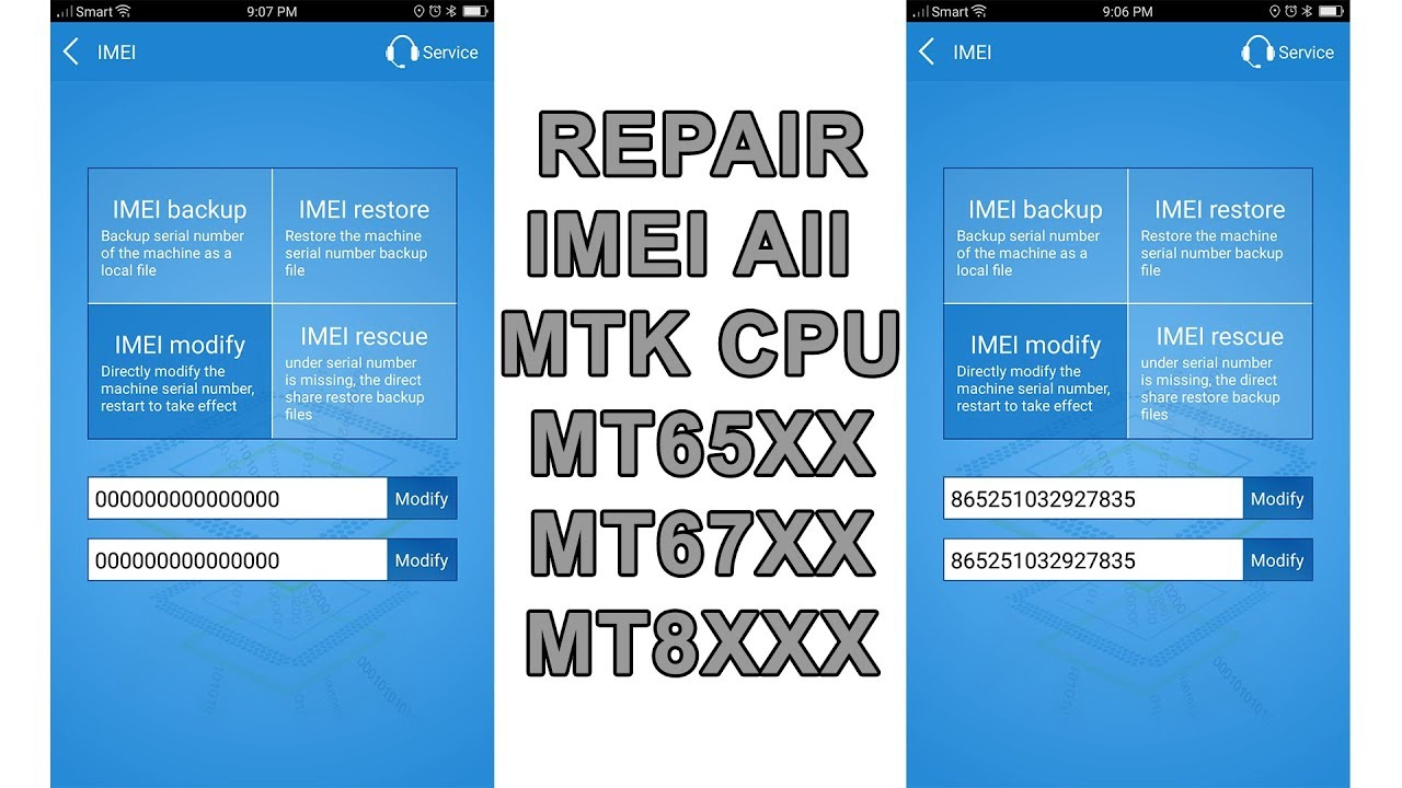 Repair IMEI MTK Engineering Mode - YouTube