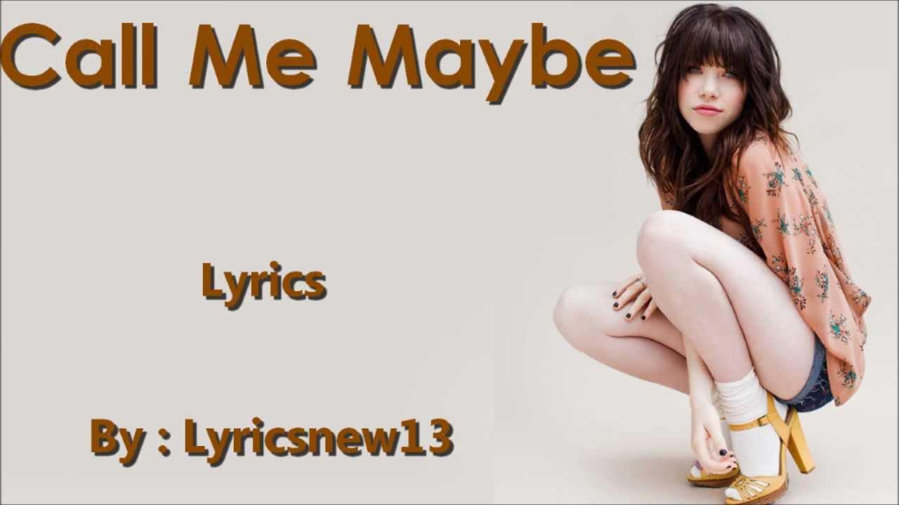 CIMORELLI - Call me maybe (Lyrics on screen ...