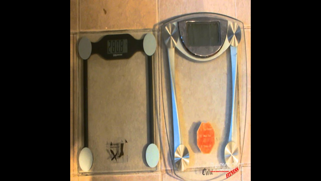 DIGITAL WEIGHT SCALE CVS SCALE VS WEIGHT WATCHERS SCALE REVIEW - Digital vs analog bathroom scale
