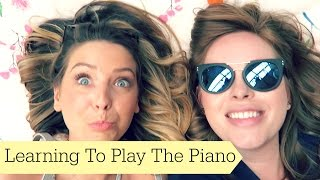 Learning To Play The Piano(Learning To Play The Piano Previous Vlog: http://bit.ly/1RIQsl7 Main Channel: http://bit.ly/1KSrBJ1 Other Places To Find Me: MAIN CHANNEL: ..., 2015-06-28T15:52:46.000Z)