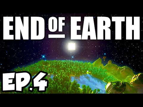 End of Earth: Minecraft Modded Survival Ep.4 - IN SEARCH OF SURVIVORS!!! (Steve's Galaxy Modpack)