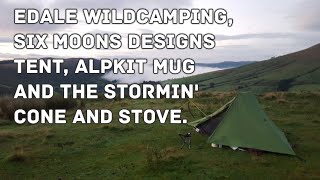 Peak District - Edale Wild Camping in the Six Moons Designs Tarp Tent, Alpkit Mug & Stormin' Cone