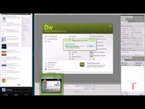 How to edit wordpress theme using Dreamweaver ?