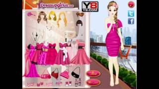Hot Pink Style Game -Y8 com Best Funny Online Games