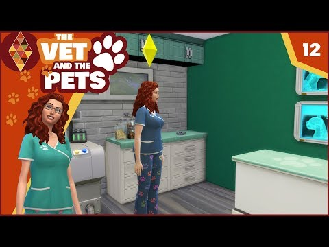 Sims 4 Cats and Dogs - The Vet and the Pets #12 | HD Let's Play