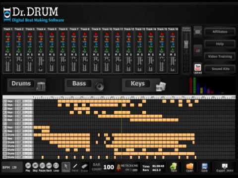 free trial dr drum the best beat maker preview youtube. Black Bedroom Furniture Sets. Home Design Ideas