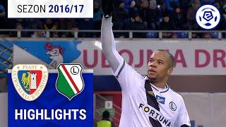 Piast Gliwice - Legia Warszawa 1:5 [skrót] sezon 2016/17 kolejka 19