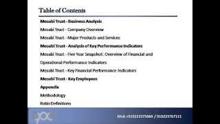Mesabi Trust MSB   Company Capsule