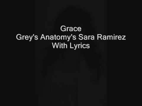 Grace Grey's Anatomy's Sara Ramirez With Lyrics