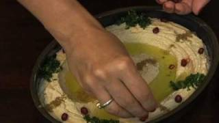 Traditional Arabic Hommus-garbanzo Beans/chick Pea Dip- How To Video