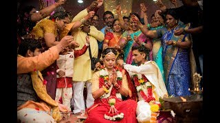 Priyanka & Vijaykumar Wedding Highlights 4K