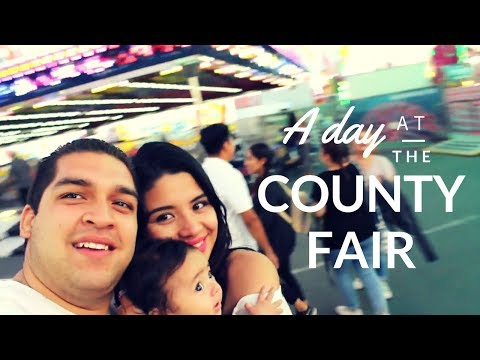 A Day at the San Diego County Fair | Un día en la Feria vlog