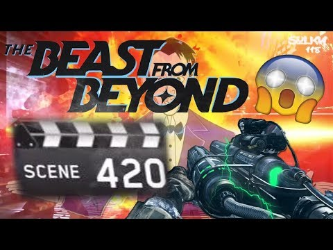World Record Scene 350+ 420 Attempt-Beast From Beyond | Infinite Warfare Zombies