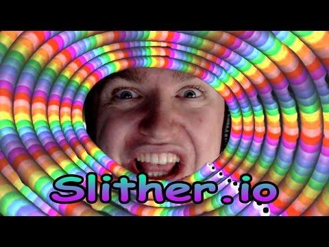 IM A SLITHERY SNAKE - Slither.io
