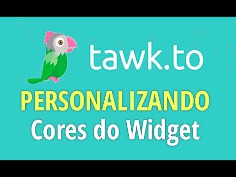 TUTORIAL Tawk.to - Como mudar Cores do WIDGET Caixa