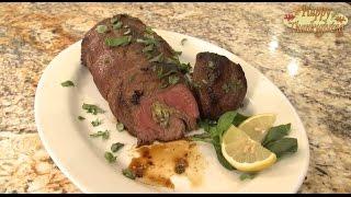 Thanksgiving Recipes: Stuffed Venison Backstrap