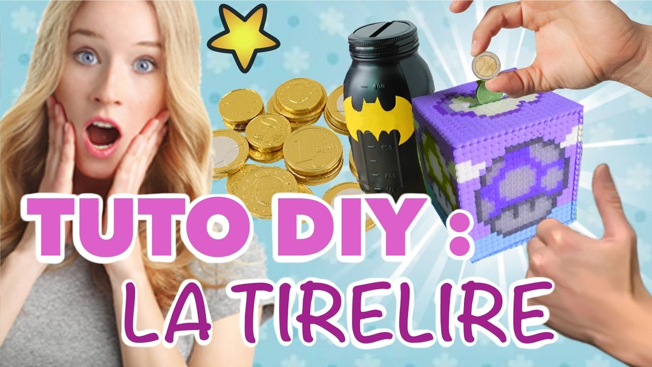 Tuto  Faire Une Tirelire Fun Et BranchÉe  Chaise  Youtube