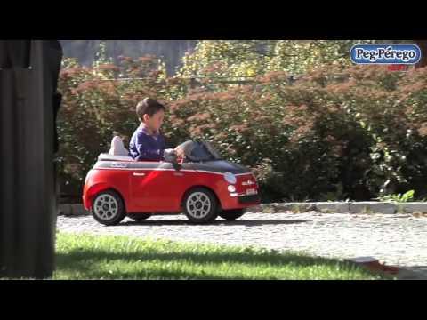 Voiture Électrique Perego Fiat Peg 500 Youtube j35RL4Aq
