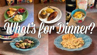 What's for Dinner?| Easy & Budget Friendly Family Meal Ideas| August 5-11, 2019