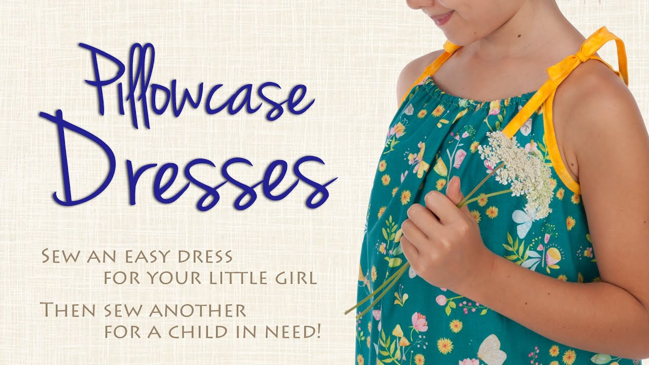photograph about Free Printable Pillowcase Dress Pattern identify Sew an Uncomplicated Pillowcase Costume for a Distinctive Very little Female