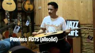 Peerless Guitar PGC-65 & PD-75_Acousticthai.Net review