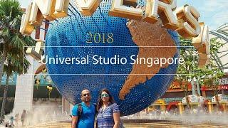 Universal Studio Singapore Cinematic Travel Video| a6300 | Zhiyun Crane