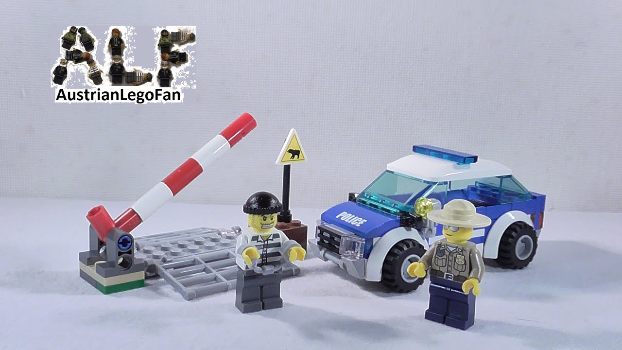 How To Build Lego Forest Police Station