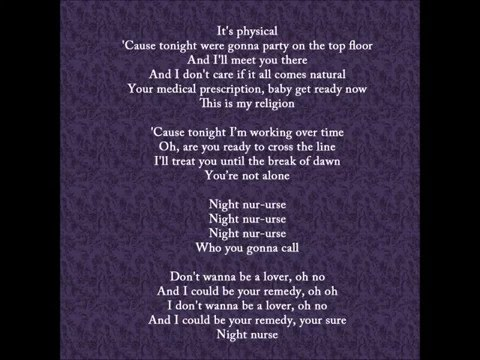 Cascada  Night Nurse lyrics