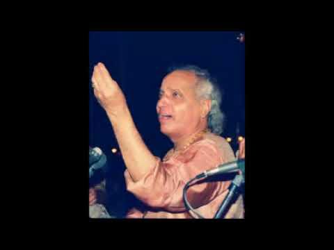 Pt Jasraj  Raag Shuddha Sarang-  jaao jee jaao shyaama chaliyaam, drut teentaal