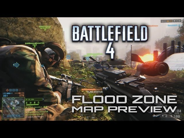 Battlefield 4 - Flood Zone Map Preview (Easter Egg!)
