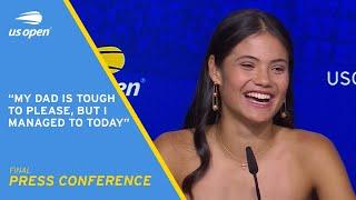 Emma Raducanu Press Conference | 2021 US Open Final