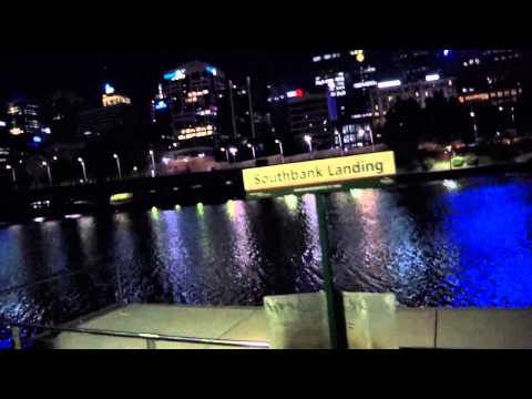 A Walk From Federation Wharf to Crown Casino