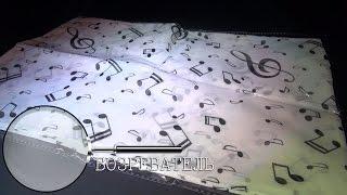 № 12 | Женский шарф с нотками | AliExpress | Обзор