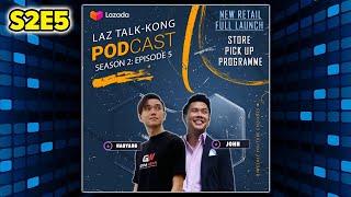 Laz-Talk Kong S2E5: Free Store Pick-up Programme screenshot 3