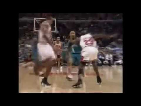 1998 NBA Playoffs: Chicago Bulls vs Charlotte Hornets