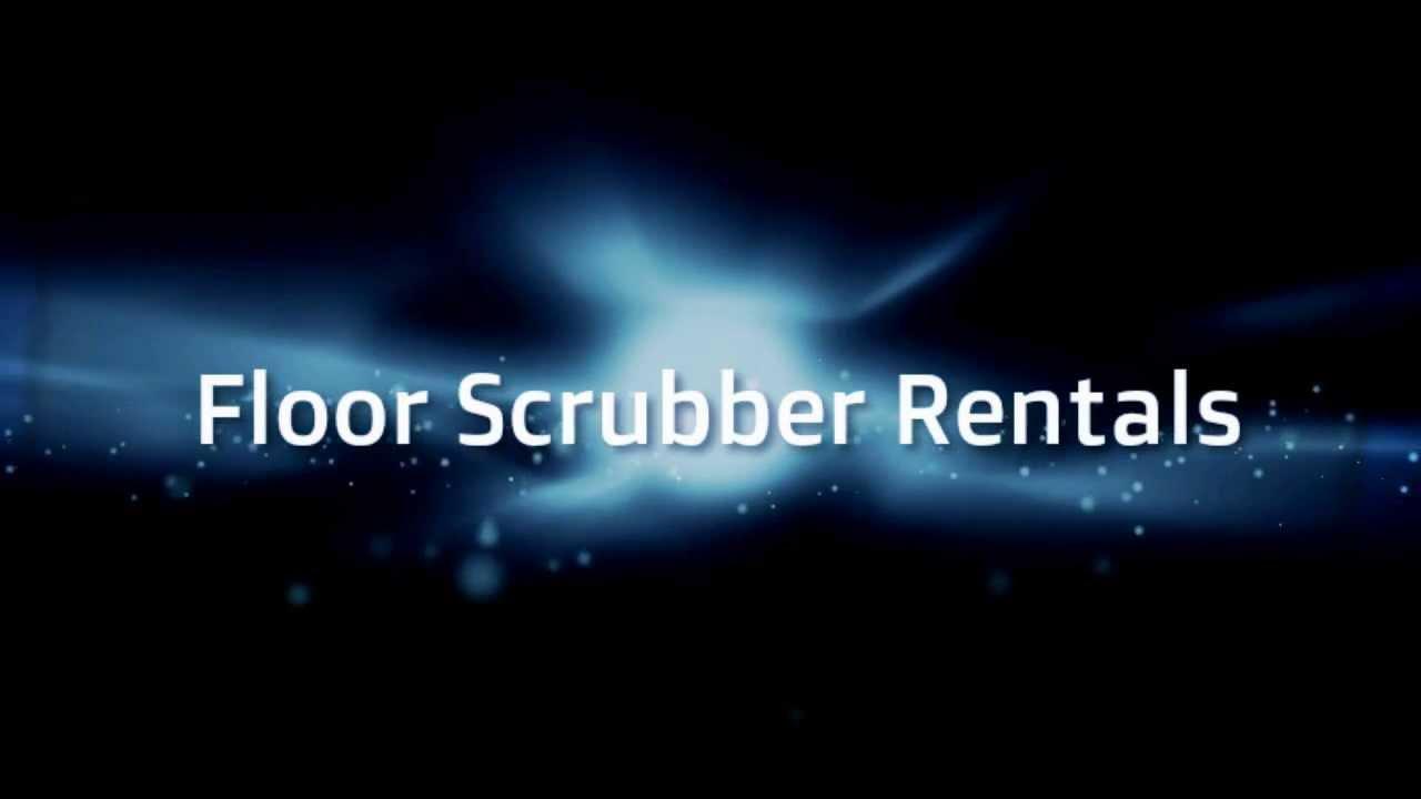 Awesome Walk Behind Floor Scrubber Rentals