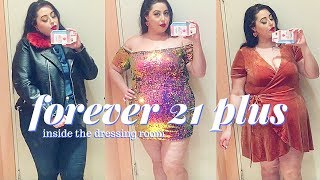 Forever 21 Plus Size Haul | Inside the dressing room plus size