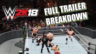 Full WWE 2K18 Trailer Breakdown! Limo Smashing, 8 Man MITB!