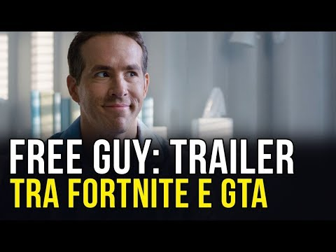 Free Guy Trailer Italiano: Un Film Ispirato A Fortnite E GTA