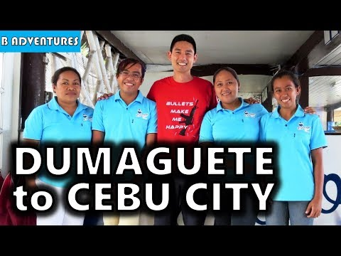 Dumaguete to Cebu City, Road Trip, Philippines S3, Travel Vlog #99